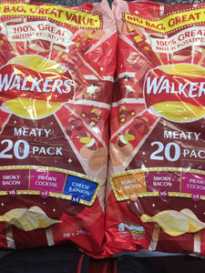 Walkers Meaty 40 Pack (40x25g)