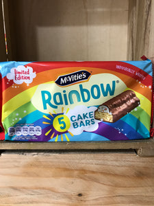 30x McVitie's Rainbow Cake Bars (6 Packs of 5 Bars)