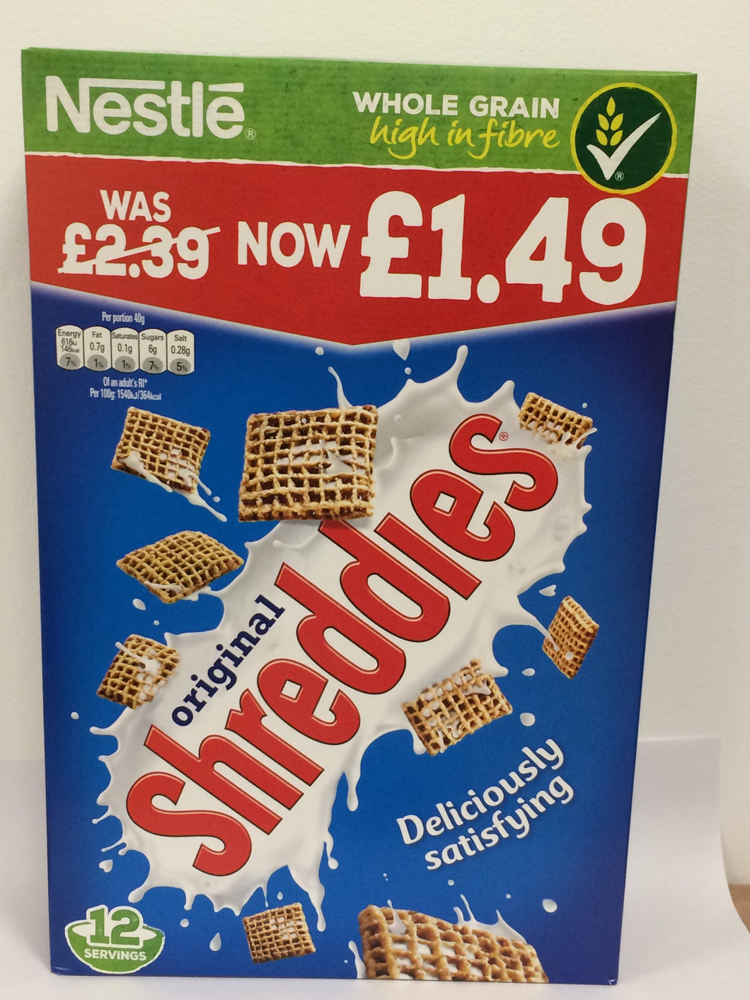 Nestle Shreddies 6x 500g Bulk Pack