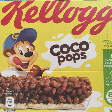 18x Kellogg's Coco Pops Bars 3 Boxes of 6 (3x6x20g)