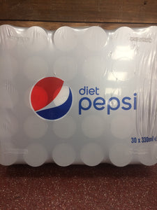 Diet Pepsi 30x330ml Cans