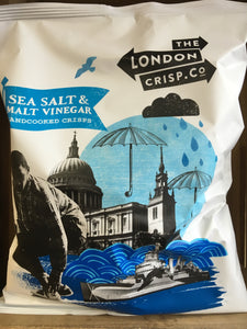 The London Crisp.Co Sea Salt & Malt Vinegar Crisps 150g