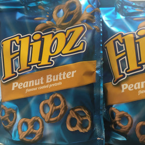 2x Flipz Peanut Butter Covered Pretzels (2x90g)