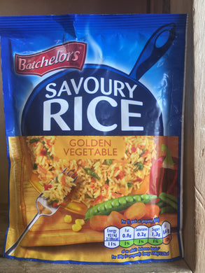 Batchelors Savoury Rice Golden Vegetable Flavour 120g