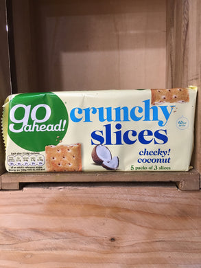Go Ahead Cheeky Coconut 5x3 Slices 207g