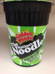 Golden Wonder Chicken & Mushroom Noodle Pots 90g