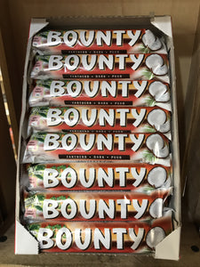 24x Bounty Dark Chocolate Bars (24x57g)