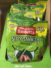 16x Maynards Bassetts Silly Snakes Jellies (16x70g)