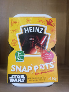 Heinz Star Wars Snap Pots Pasta Shapes 2 X190g