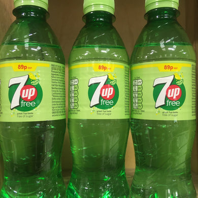 6x 7up Free Bottles (6x375ml)