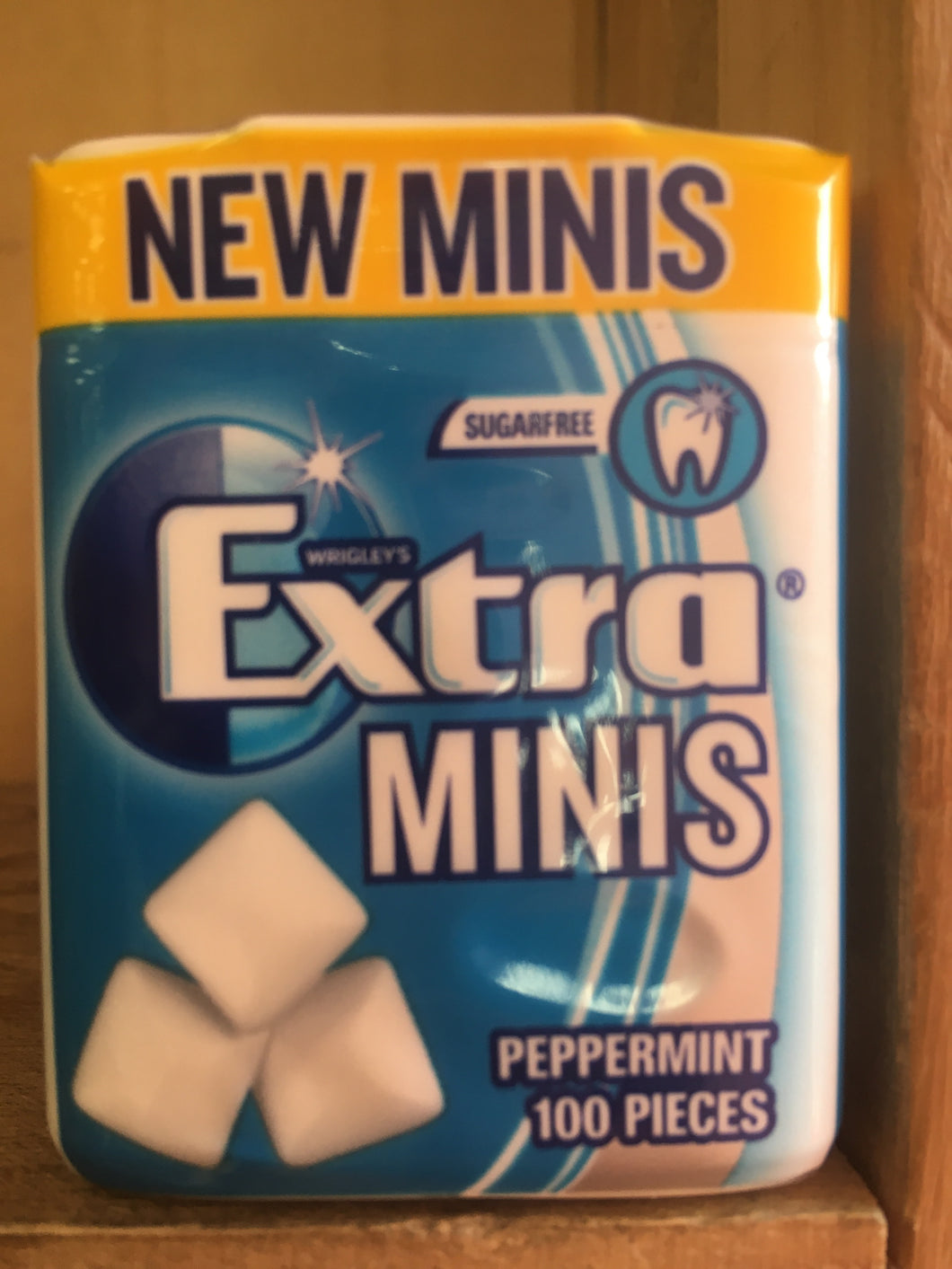Wrigley's Extra Minis Peppermint Chewing Gum x100 Pieces