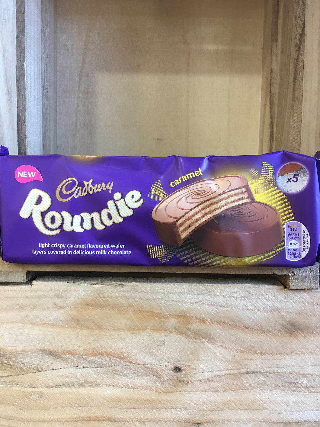Cadbury Roundie Milk Chocolate Biscuits 5x30g