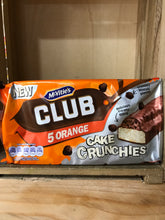 McVitie's Club 5 Orange Cake Crunchies