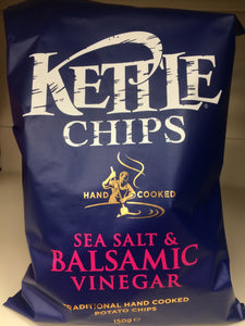 Kettle Chips Sea Salt & Balsamic Vinegar 150g