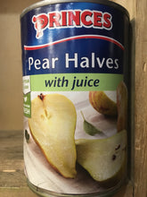 Princes Pear Halves with Juice 410g