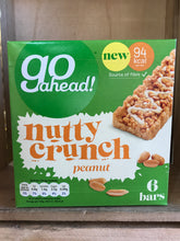 Go Ahead Nutty Crunch Peanut 6x19.5g Bars