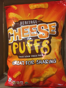 Heritage Cheese Puffs 110g