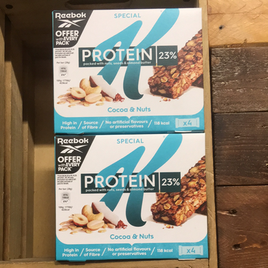20x Kellogg's Special K Protein Bars with Nuts, Seeds & Almond Butter (5 Packs of 4x28g)