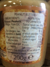 Kernel King Crunchy Unstabilised Peanut Butter 200g