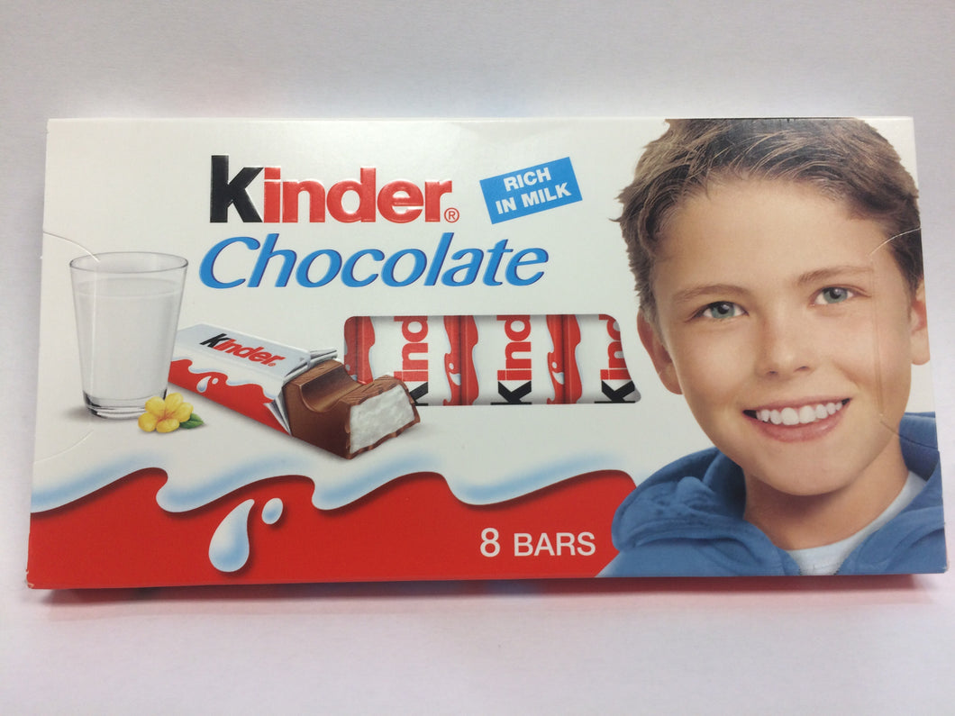 Kinder Chocolate 8 bars - 100g