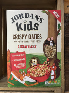 Jordans Kids Crispy Oaties Strawberry 400g