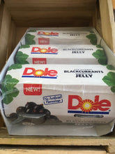12x Dole Sun Ripened Blackcurrants In Jelly 3x 4Packs (12x123g)