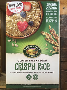Nature's Path Gluten Free Vegan Crispy Rice 284g
