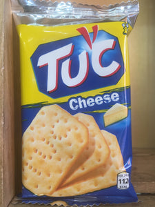 TUC Biscuits Cheese Flavour Snack 6x Biscuit Pack 24g