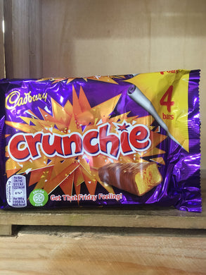 Cadbury Crunchie 4x Pack (4x26.1g)