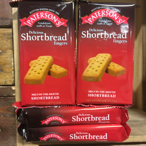 4x Paterson's Delicious Shortbread Fingers Packs (4x150g)