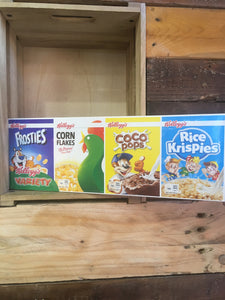 Kelloggs Variety Cereal 4 pack