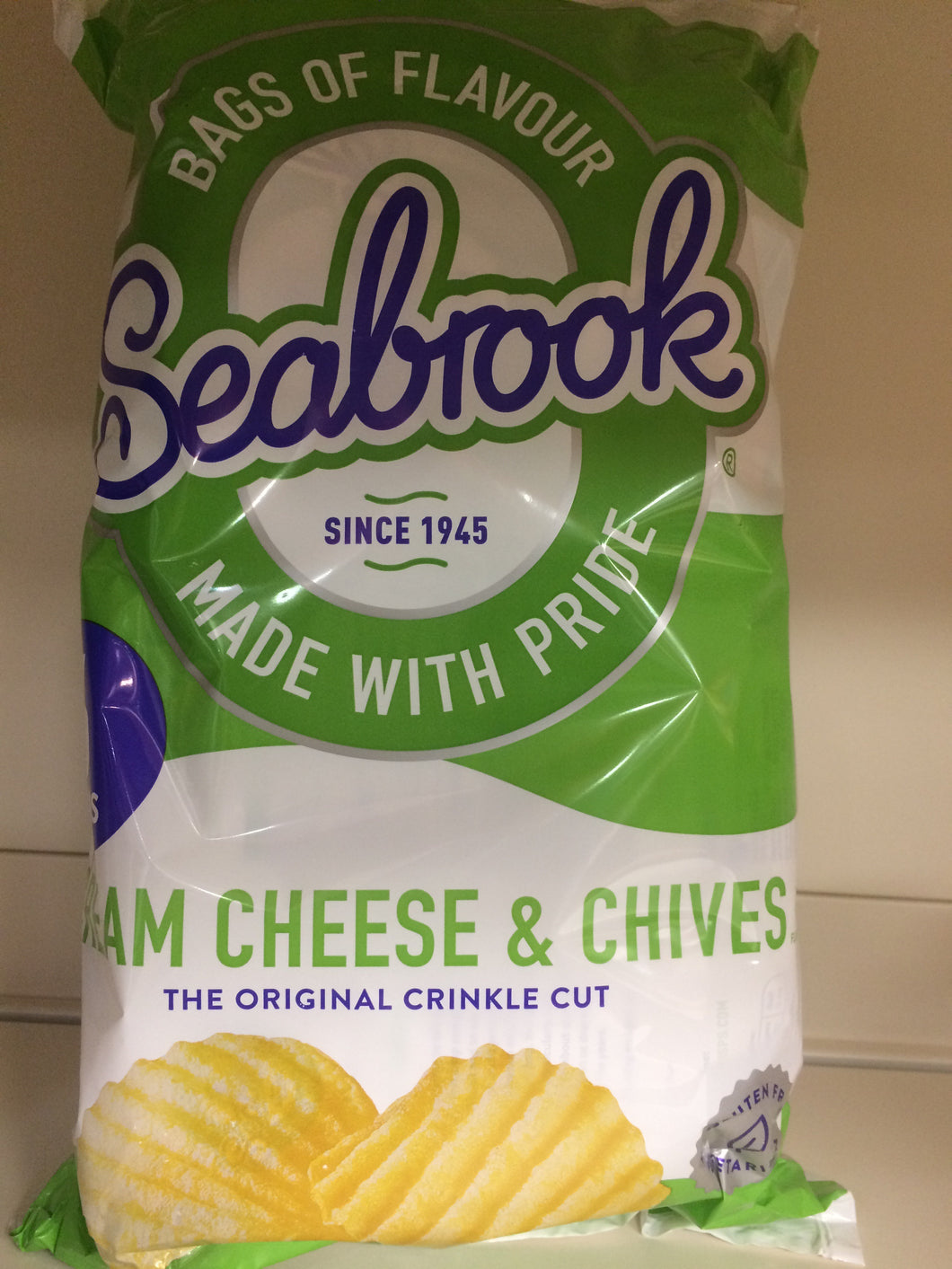 Seabrook Cream Cheese & Chives 6x 25g Pack