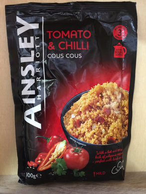 Ainsley Harriott Tomato & Chilli Cous Cous 100g
