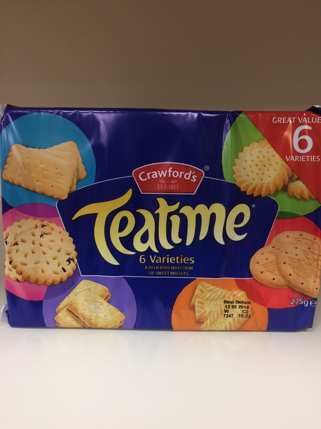 Crawford's Tea Time Biscuits 275g