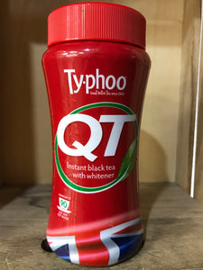 Typhoo QT Instant Black Tea with Whitener 90 cups (225g)