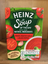 Heinz Soup of The Day Tomato, Roasted Garlic & Black Pepper 400g