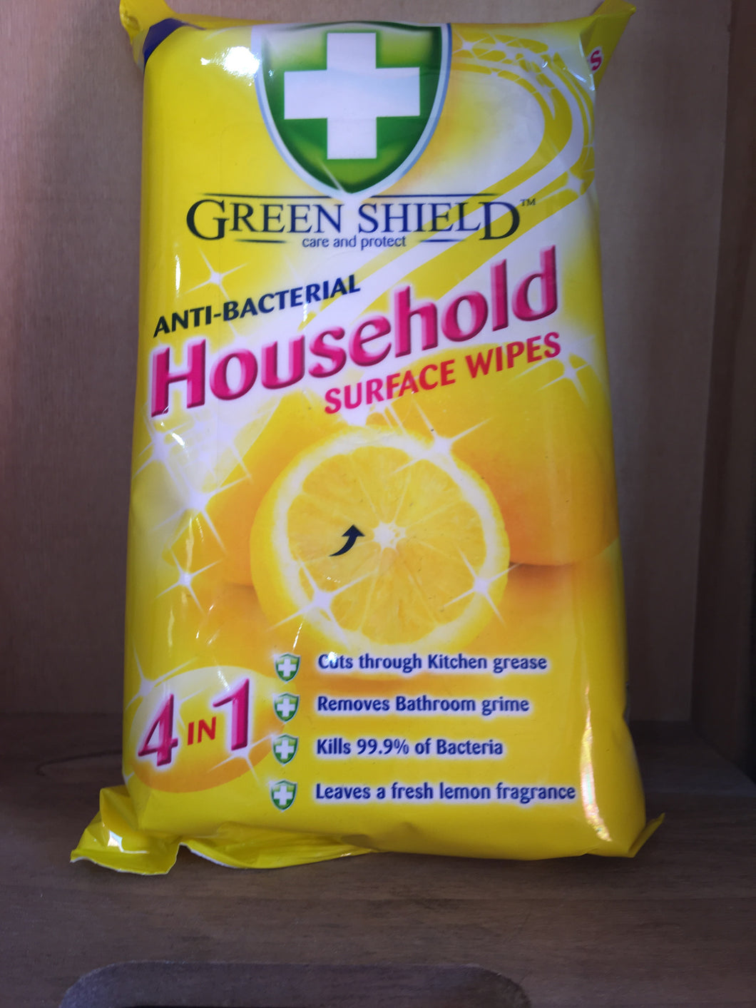 Green Shield Household Food Surface 50x Wipes