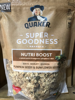 Quaker Super Goodness Granola Pumpkin Seeds & Sunflower Seeds 400g