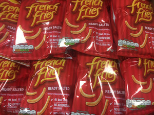 12x Walkers French Fries Ready Salted Snacks (12x21g)