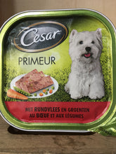 Cesar Beef & Mixed Vegetable Dog Food 300g