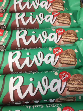 12x Lovell's Riva Chocolate Wafer Bars (12x33g)