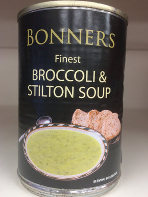 Bonners Broccoli & Stilton Soup 400g