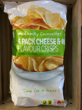 Dunnes Stores Cheese & Onion Crisps 6 Pack (6x25g)