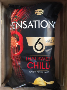 Sensations Thai Sweet Chilli 6 pack 6x25g