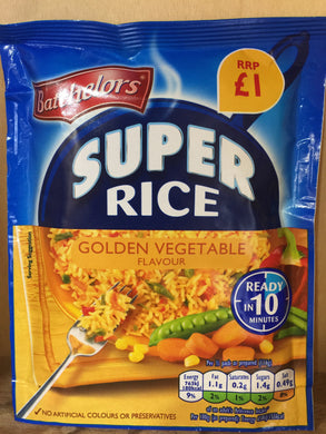 Batchelors Super Rice Golden Vegetable 100g