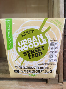 Authentic Urban Noodle Street Food Thai Green Curry 330g