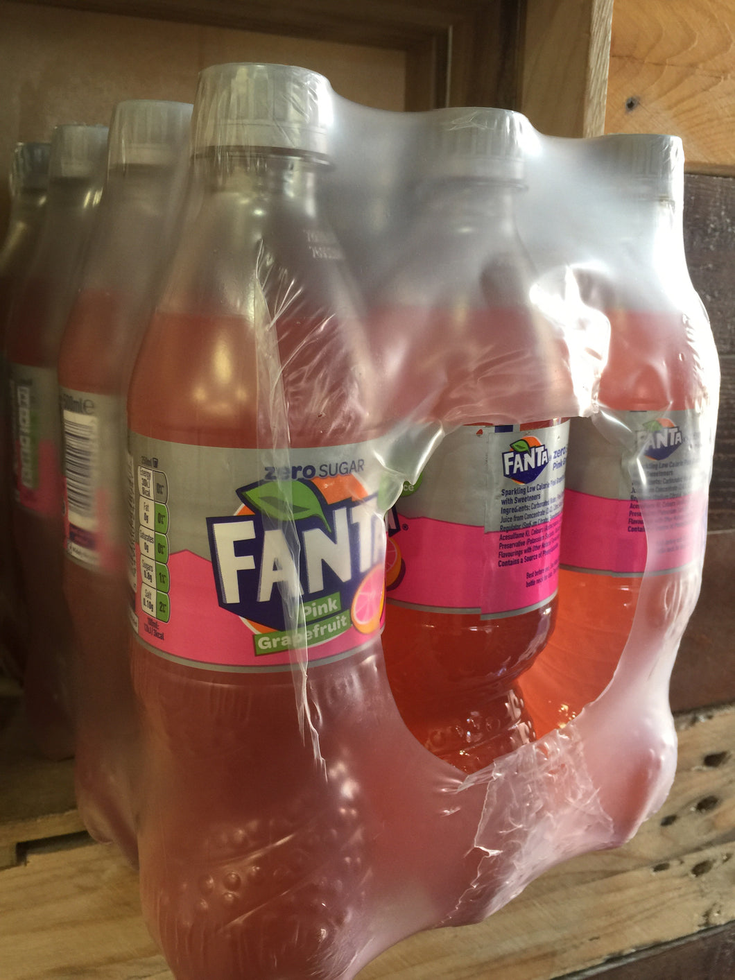 12x Fanta Pink Grapefruit Zero 500ml