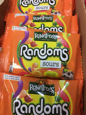 12x Rowntrees Randoms Sours (12x43g)