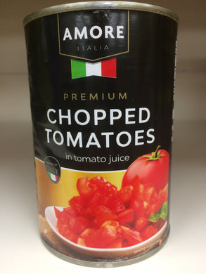 Amore Italian Chopped Tomatoes In tomato juice 400g