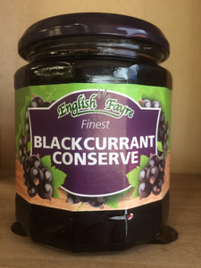 English Fayre Finest Blackcurrant Conserve 340g Jar